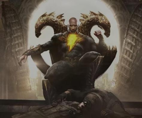 'The Rock' releases first teaser trailer of DC film 'Black Adam'