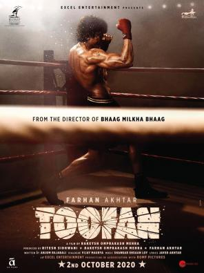 'Toofan' leads the race as Amazon Prime's most watched Hindi film in 2021