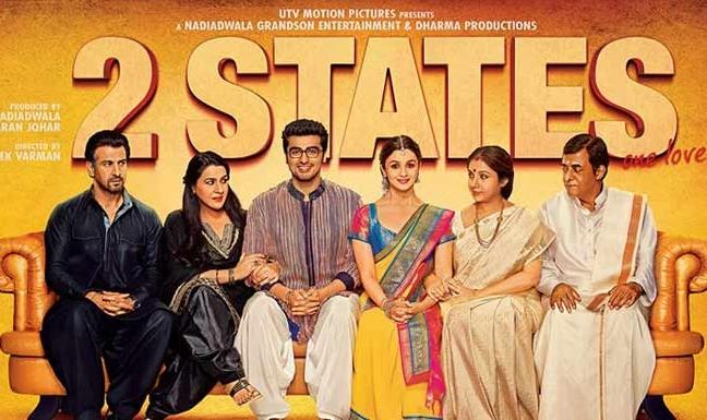 2 States featuring Alia Bhatt and Arjun Kapoor