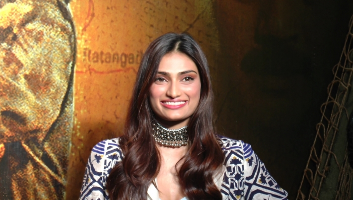 COVID-19: Athiya Shetty pitches in with dry ration, hygiene kits