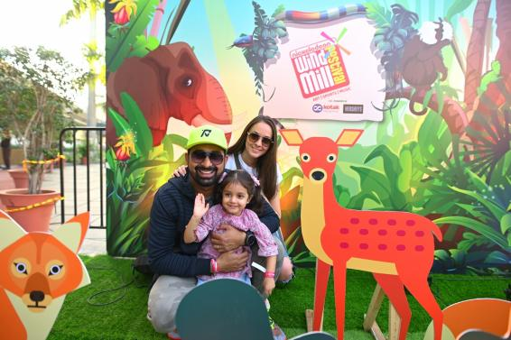 Rannvijay Singha has fun time with daughter at kids' fest