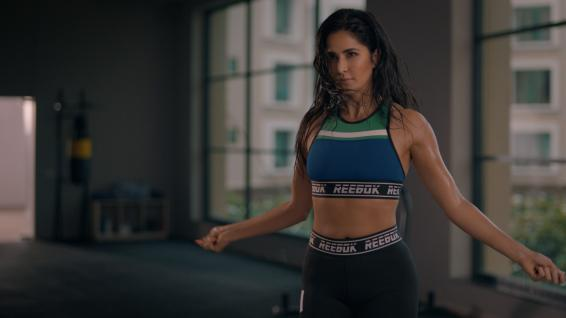 Katrina in Reebok's new fitness campaign