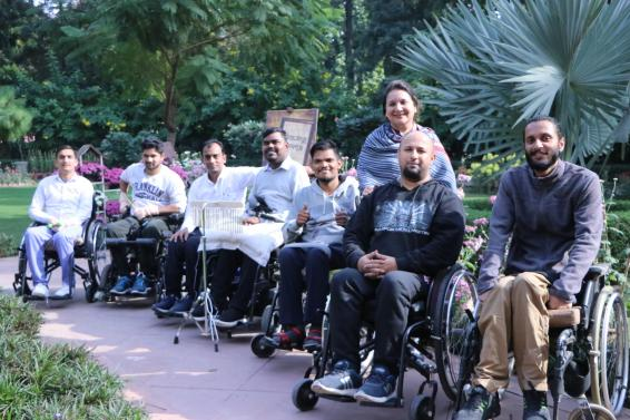 Music band on wheelchairs to perform in Chandigarh