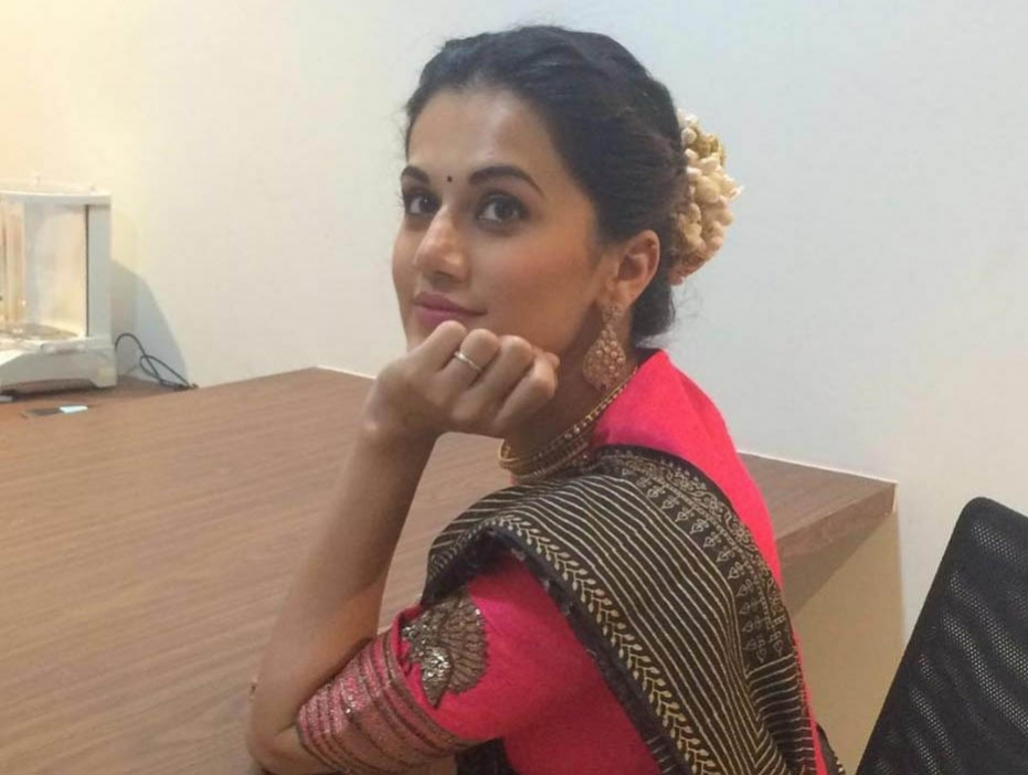 Taapsee Pannu doesn't like putting nailpaint