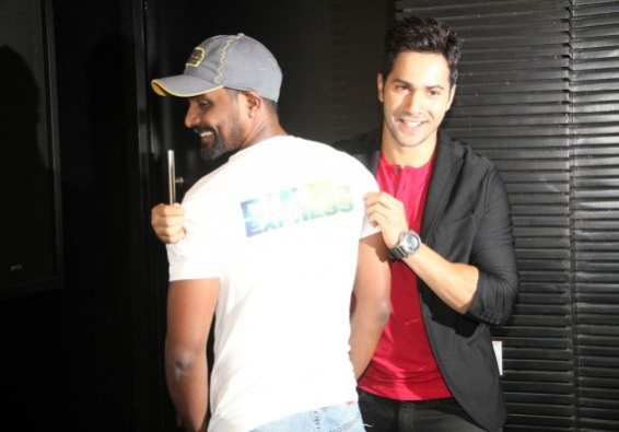 Remo's fitness level motivates Varun Dhawan