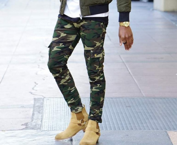 Layered clothing, camouflage prints: Winter trends for men