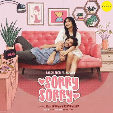 Raashi Sood's track 'Sorry Sorry' is a treat for all newlyweds