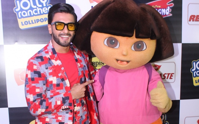 Ranveer, Alia win Nickelodeon Kids Choice Awards