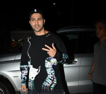 Varun Dhawan turns rapper to post lockdown video
