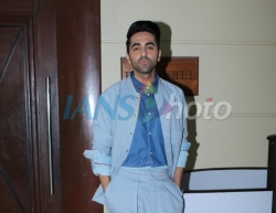 Mumbai: Actor Ayushmann Khurrana during the promotions of his upcoming film Article 15 in Mumbai, on May 22, 2019. (Photo: IANS)