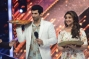 Actors Aditya Roy Kapoor and Parineeti Chopra on the sets of Jhalak Dikhhla Jaa during the promotion of film Daawat-e-Ishq, in Mumbai (Photo: IANS)