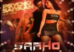 'Saaho' song 'Psycho saiyaan' released in 4 languages