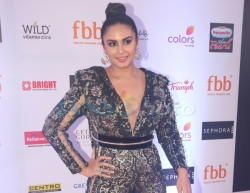 Mumbai: Actress Huma Qureshi at the finale of Fbb Colors Femina Miss India 2019 in Mumbai on June 15, 2019. (Photo: IANS)