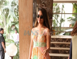 Mumbai: Actress Shraddha Kapoor seen at Andheri in Mumbai on March 13, 2020. (Photo: IANS)