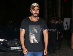 Mumbai: Actor Arjun Kapoor at the screening of his upcoming film