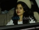 Actress Janhvi Kapoor seen at Mumbai's Bandra Kurla Complex on March 22, 2019. (Photo: IANS)