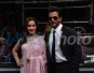 Actors Madhuri Dixit and Anil Kapoor during the promotion of their upcoming film