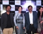 Producer Sanjay Raut with actors Nawazuddin Siddiqui and Amrita Rao at a press conference to promote of their upcoming film