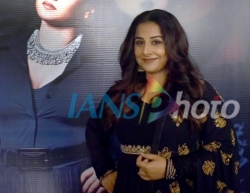 Actress Vidya Balan during The Change of Guard programme organised by FICCI Ladies Organisation (FLO) in Amritsar, on April 17, 2019. (Photo: IANS)