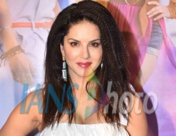 Actress Sunny Leone at the launch of her song