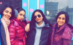 Sara Ali Khan chills in NYC with friends