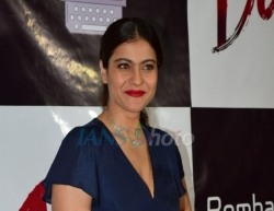 Mumbai: Actress Kajol attend the success party of short film Devi in Mumbai on March 12, 2020. (Photo: IANS)