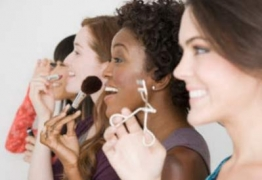For women, no outings without make-up