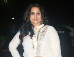 Mumbai: Actress Vidya Balan at the screening of the upcoming film