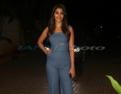 Mumbai: Actress Pooja Hegde at the screening of the upcoming film