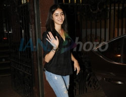Mumbai: Actress Ananya Pandey seen in Mumbai on June 18, 2019. (Photo: IANS)