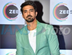 Actor Saqib Saleem on the red carpet of Zee5's first anniversary celebrations in Mumbai, on Feb 14, 2019. (Photo: IANS)