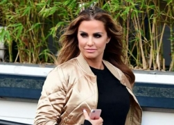 Katie Price wants to be buried with her silicone implants