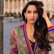 Nora Fatehi's wet-hair look sets mercury soaring