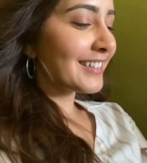 Raashii Khanna excited to shoot in sync-sound set-up for 'Thank You'