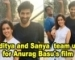 Aditya Roy Kapur and Sanya Malhotra team up for Anurag Basu's film