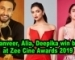 Ranveer, Alia, Deepika win big at Zee Cine Awards 2019