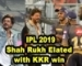Shah Rukh Elated with KKR win against SRH | IPL 2019